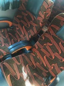 マレーシアバス椅子