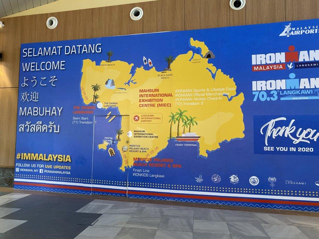 ランカウイ島地図